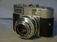'  1 ' Voigtlander Vitomatic I Camera c/w Color Skopar 50MM --F2.8-- Lens -NICE-  £19.99